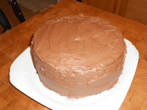 rich sour cream chocolate cake