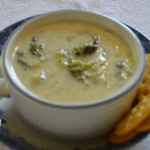 Grannie Geek, broccoli cheese soup