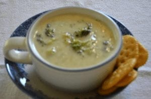 Broccoli Cheese Soup – Perfect Summer End and Fall Begin