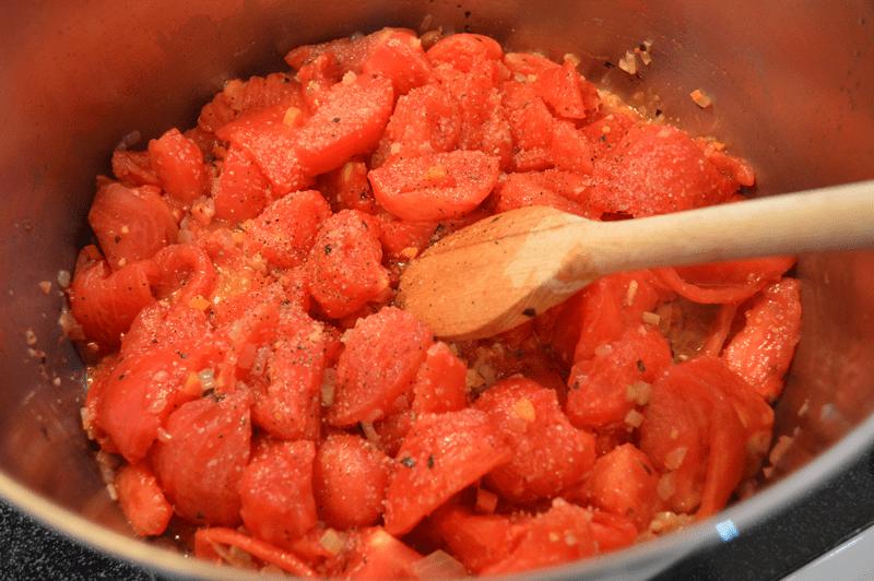 grannie geek, salt and pepper for marinara
