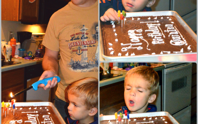 Big Texas Chocolate Birthday Sheet Cake