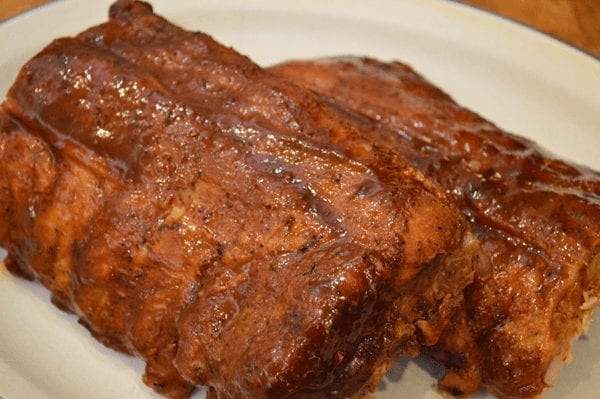 Luscious Oven Baked Baby Back Ribs