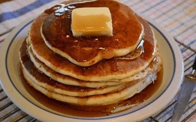 Big & Fluffy Homemade Pancakes
