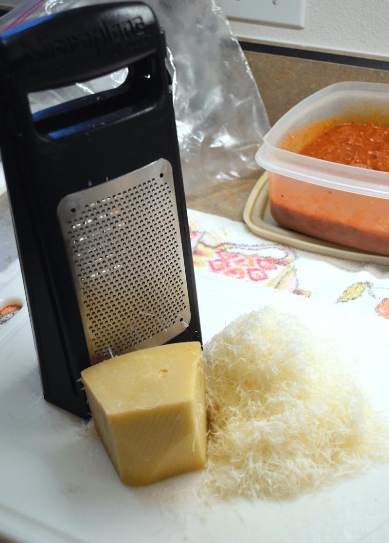 grannie geek, lasagna finely grated Parmesan cheese