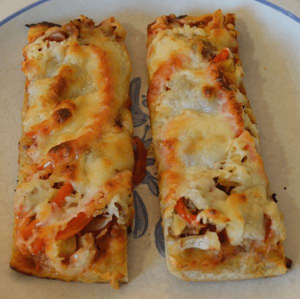 grannie geek, ultimate deluxe vegetable pizza