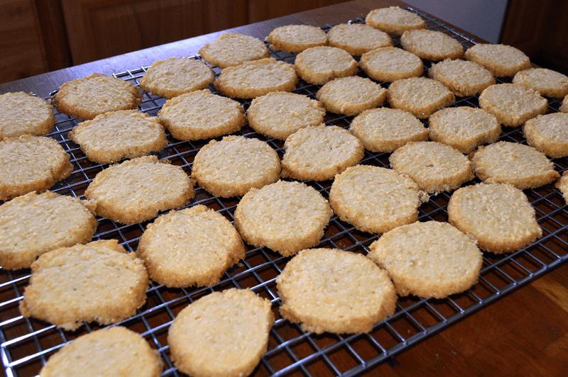 Grannie Geek: Almond Orange Cookies - Orange Sable Cookies