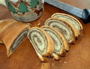 Shirley's Christmas Walnut Roll