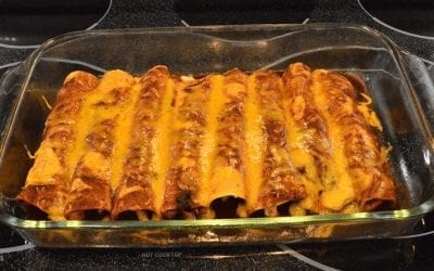 Turkey Enchiladas in Mole