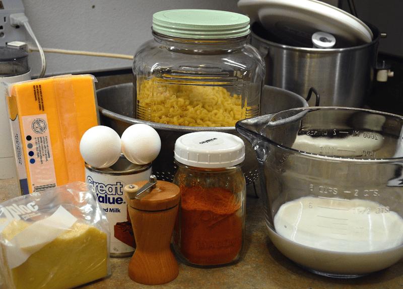 grannie geek, john legend mac 'n cheese, ingredients