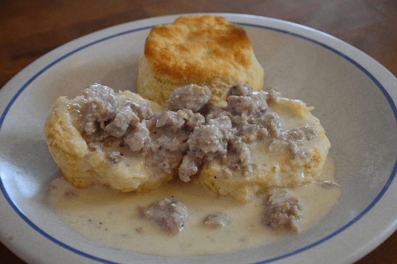 Buttermilk Biscuits & Gravy