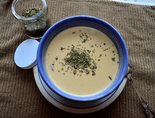 grannie geek creamy potato cheese soup