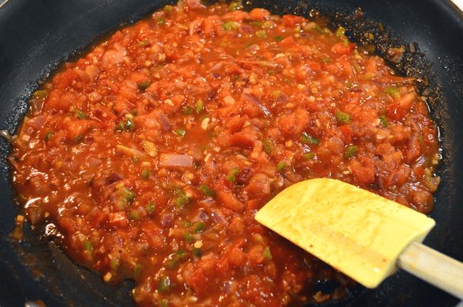 at mimis table huevos rancheros salsa