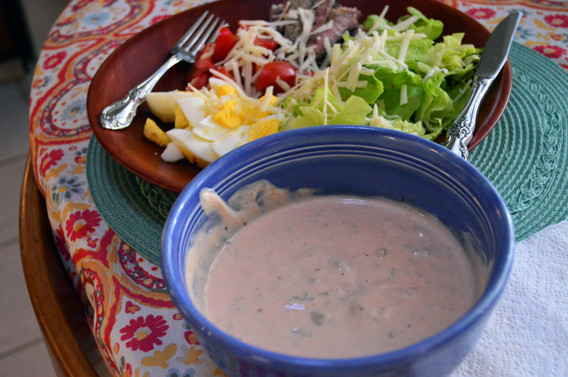 at mimis table healthy thousand island dressing