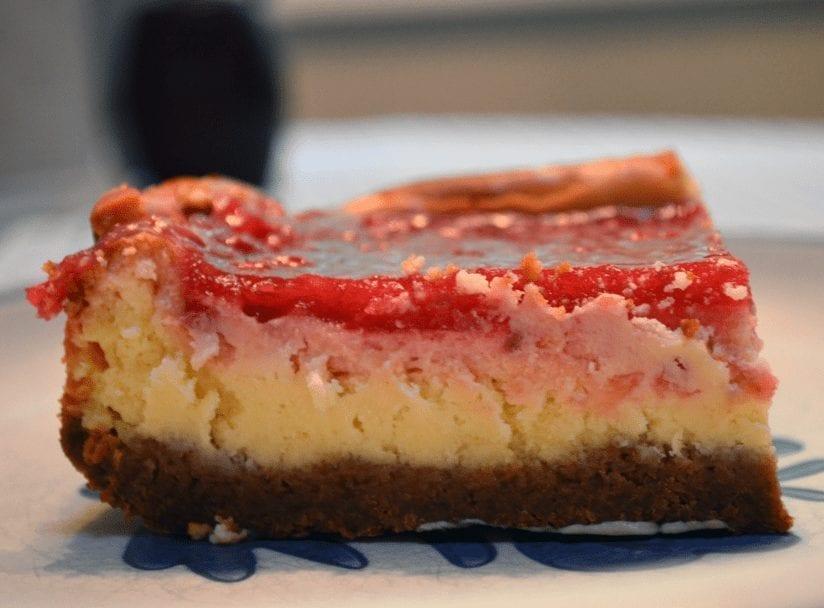 Scrumptious Raspberry Cheesecake Squares