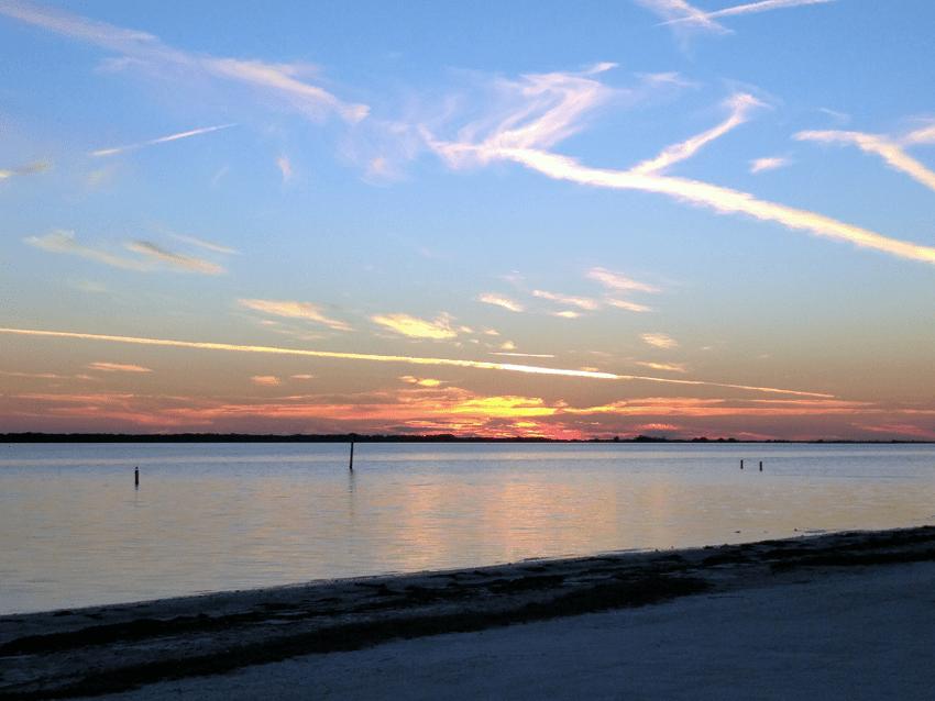at mimis table january dunedin sunset