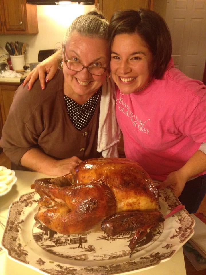 at mimi's table thanksgiving turkey with jessica