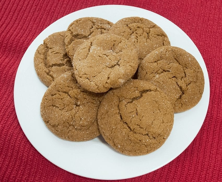Joe Carson's Ginger Cookies