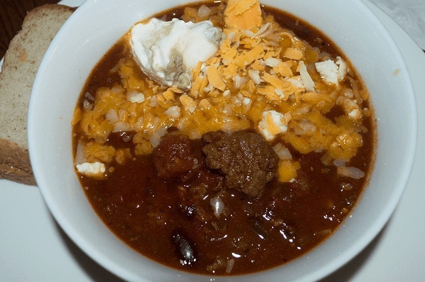 Chili 101: Mimi's Favorite Chili
