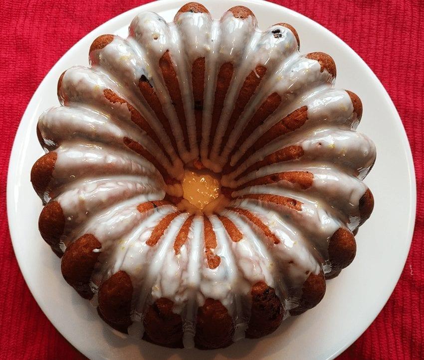 Macrina Bakery Lemon Sour Cherry Coffee Cake