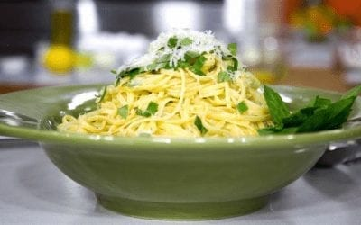 Lemon Pasta from John Alberti