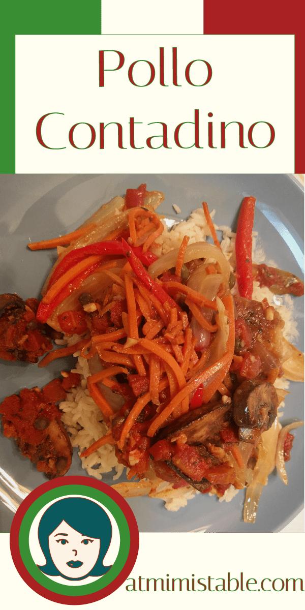 at mimis table pollo contadino pinterest