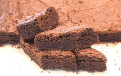 Decadently Rich and Fudgy Chocolate Brownies