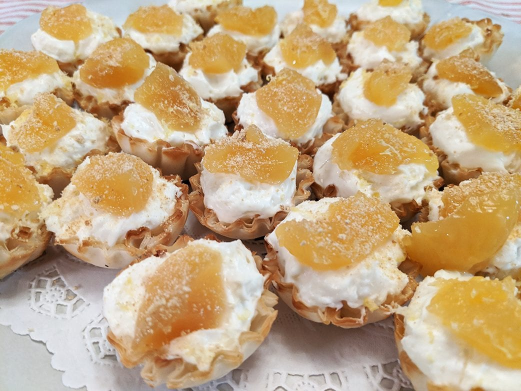 at mimi's table mimi's mini lemon cheesecakes 1