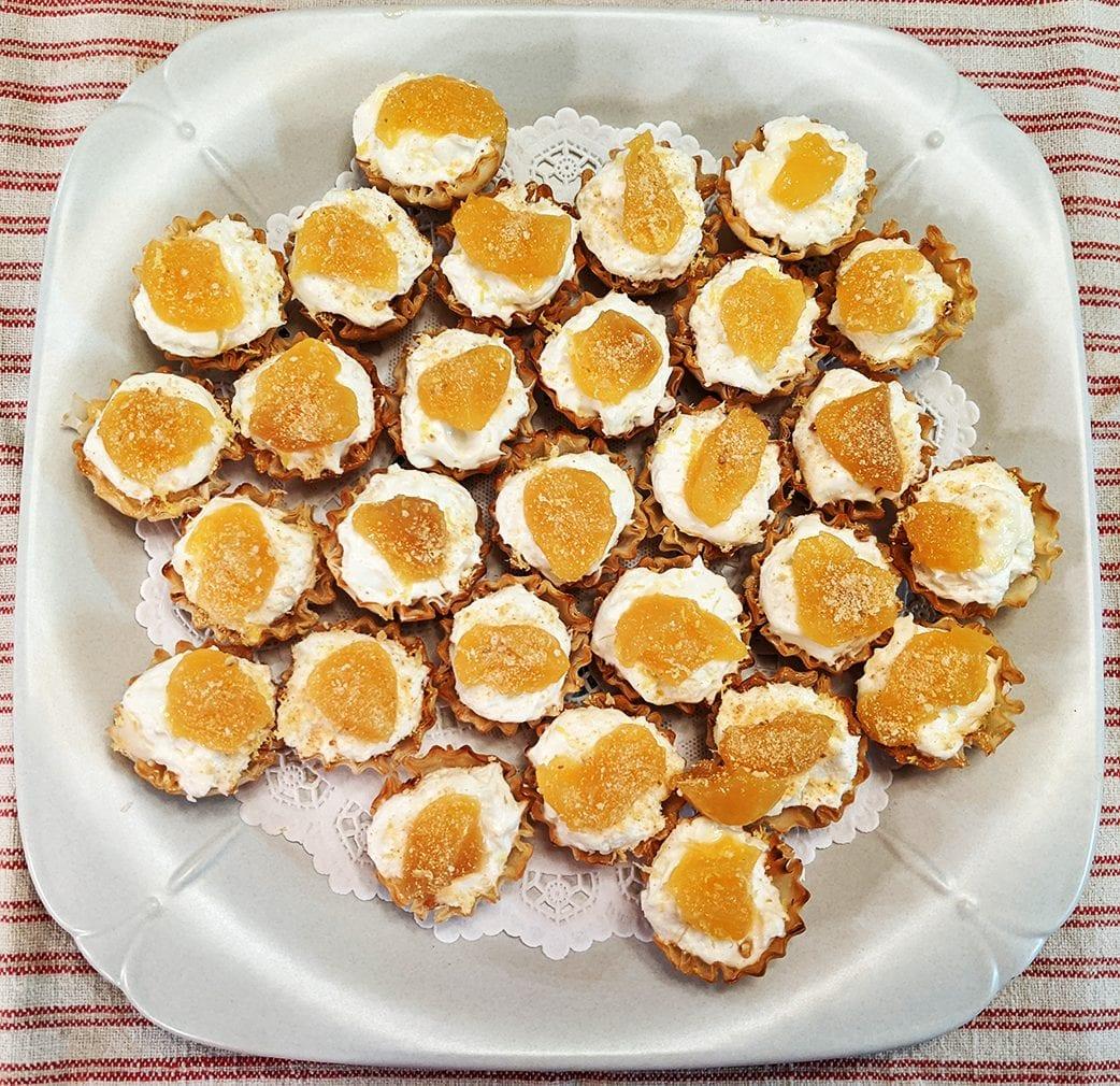 at mimi's table mimi's mini lemon cheesecakes 2