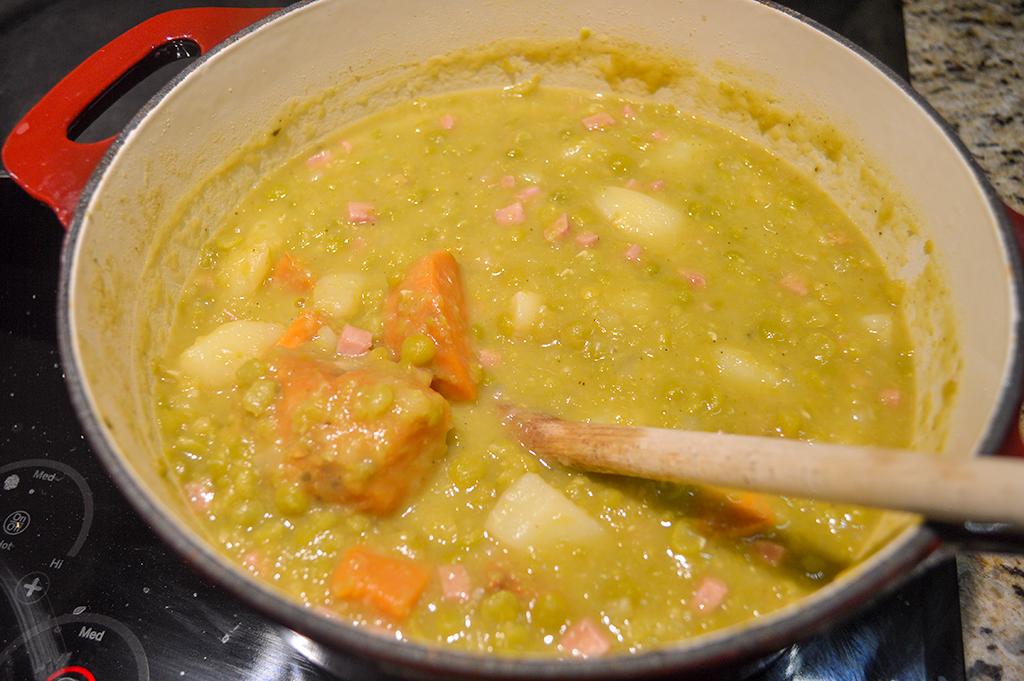 split pea soup 8