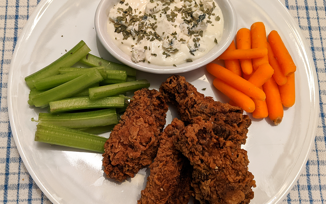 Mimi's Fried Chicken Wings and Deep Frying Tips